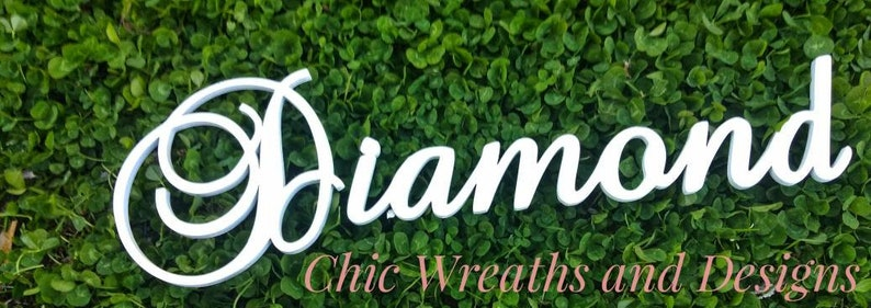 Personalized Name Decoration