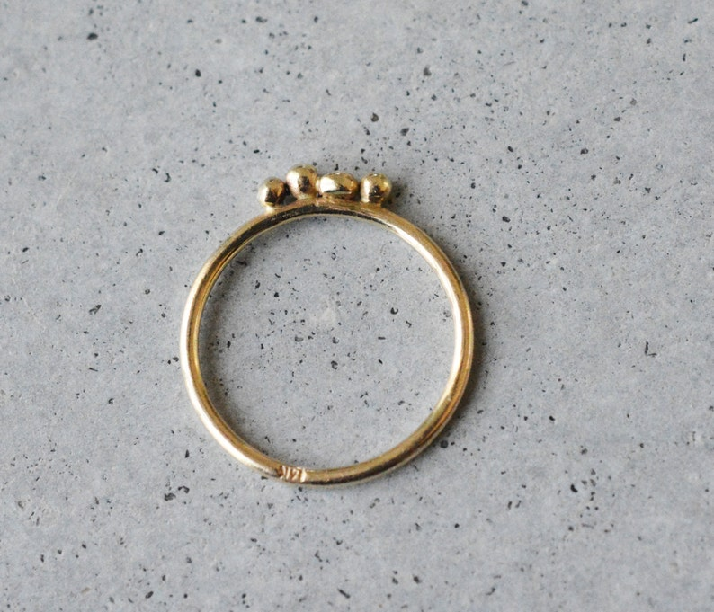 engagement ring stackable rings wedding ring 14k delicate ring delicate ring minimalist ring 14k gold solid gold 14k simple ring
