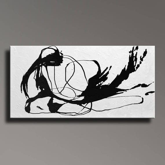 Abstract Art Black And White Images