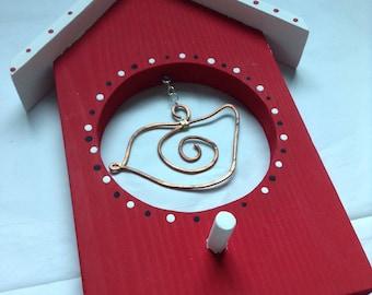 Bird house wall hanging//Bird house décor//Wall décor