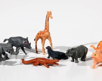 Zoo Animal Toy Etsy