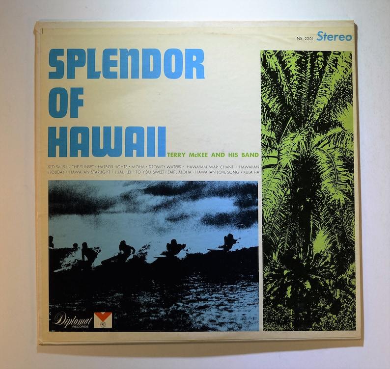 Splendor of Hawaii Terry McKee and His Band Record Hawaiian Music lp,  Hawaii, Vintage Vinyl, Vinyl Record, Vinyl Music, Hawaii Art