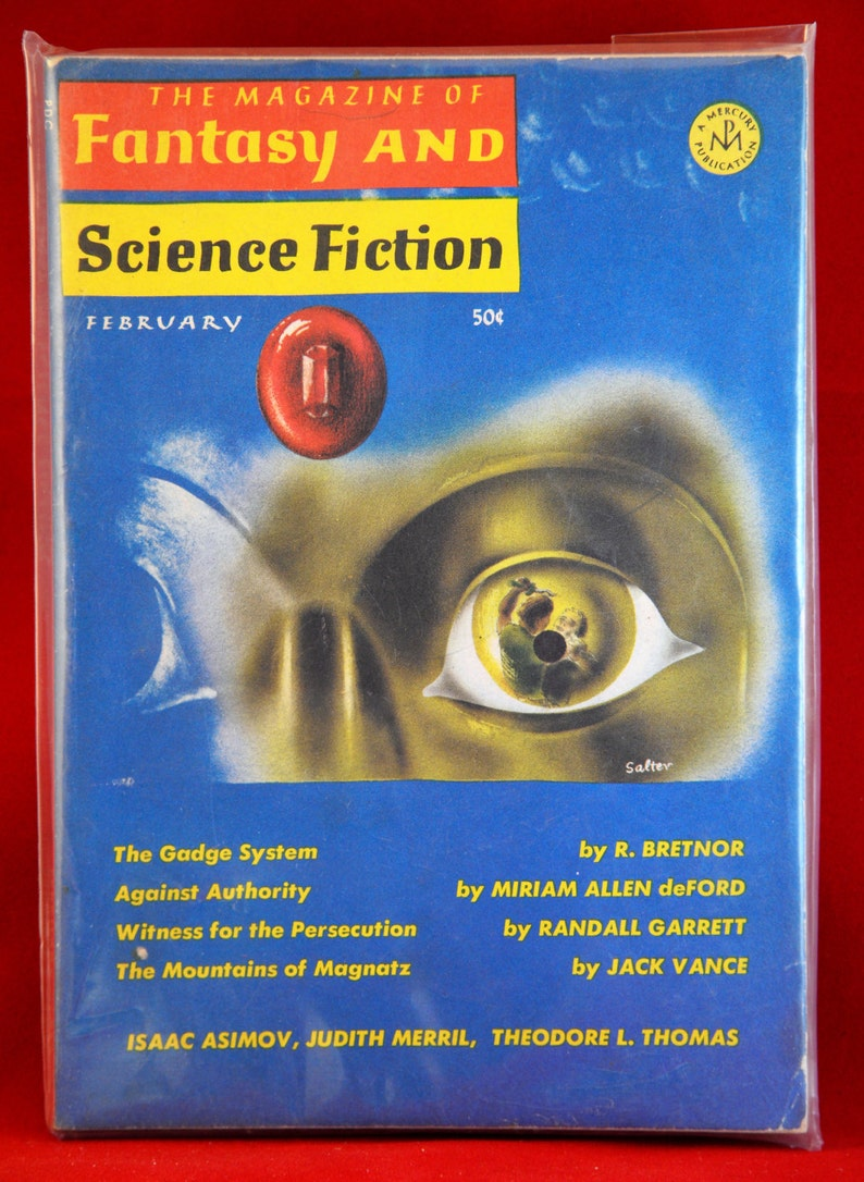 1966 Fantasy And Science Fiction for February