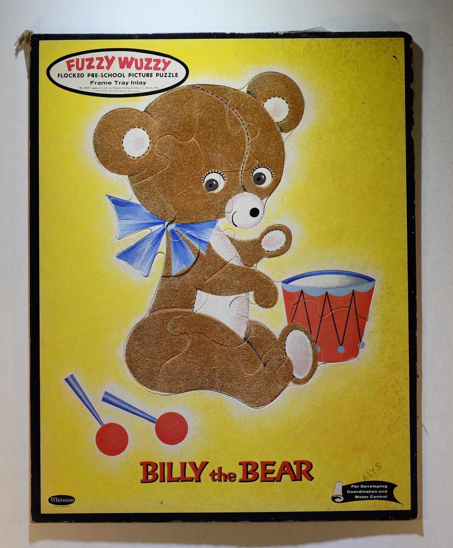 Fuzzy wuzzy was a bear answer
