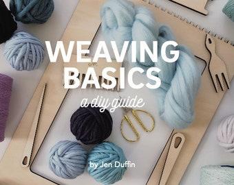 Weaving Basics, weaving manual, how to weave