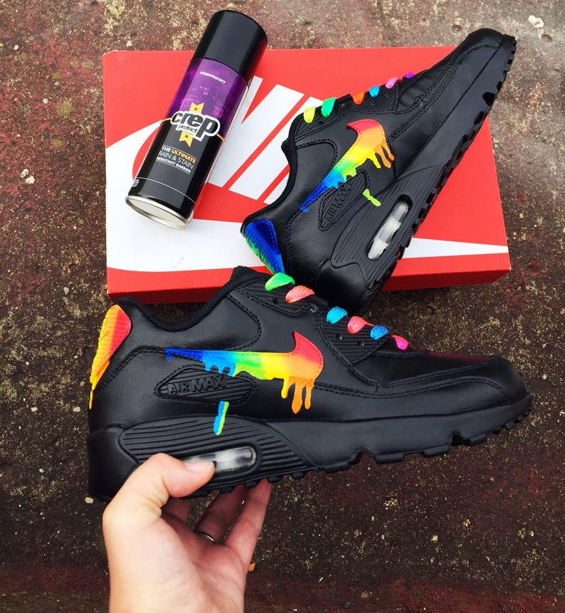 a5f9a2659d8 Rainbow drippy nike air max 90