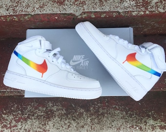 Rainbow nike Air Force 1
