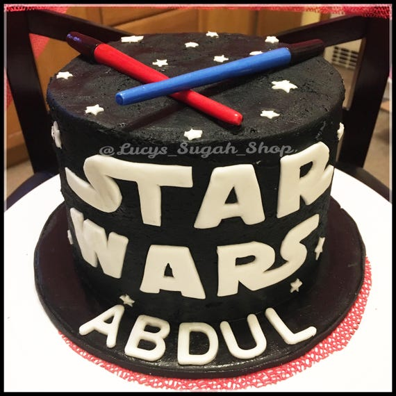 Star Wars Cake Topper Set
