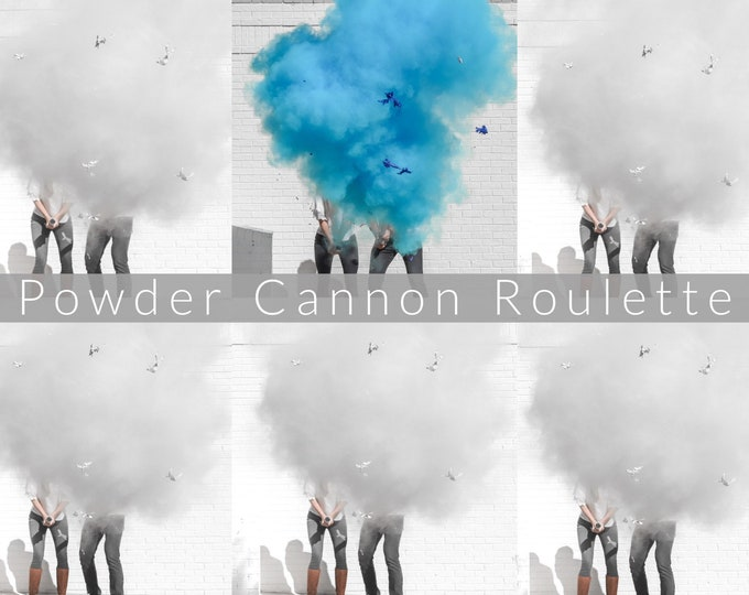 "24"" Cannon Roulette for Gender Reveals in Smoke Powder Cannons or Confetti Cannons!"