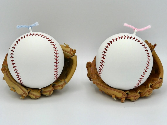 PREMIUM BASEBALLS Gender Reveal Baseball Pink & Blue Laces or Red Laces Ships Same Day