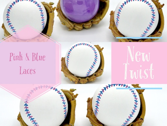 BASEBALL Gender Reveal Balls  (Custom Color Combinations and Styles) Gender Reveal Baseball