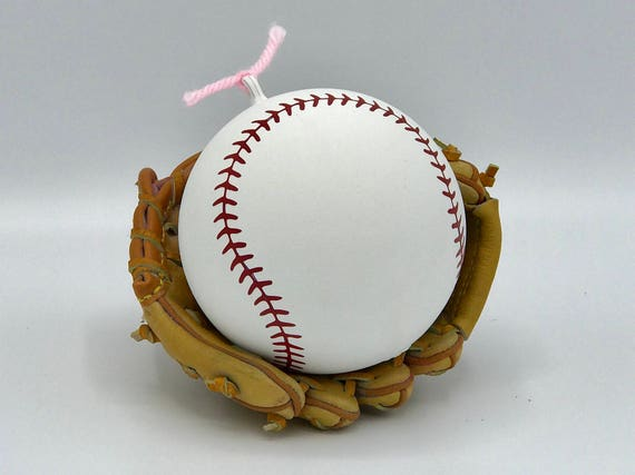 BASEBALLS : Baseball Gender Reveal (Custom Color Combinations and Styles) Gender Reveal Baseball