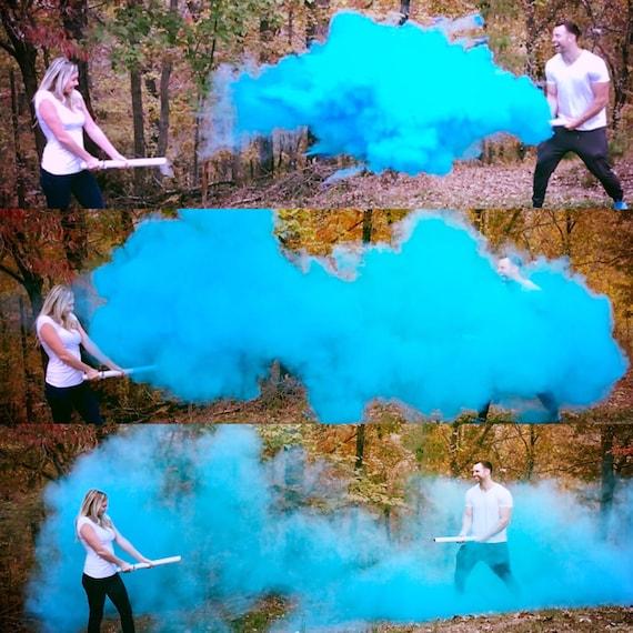 "24"" SMOKE POWDER CANNON™ Gender Reveal Smoke Powder Cannons! New Gender Reveal Idea! Ships Same Day!"