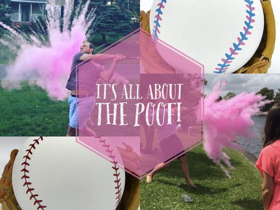 BASEBALL Gender Reveal Baseballs : Baseball Gender Reveal Balls Pack (Custom Color Combinations and Styles) Gender Reveal Baseball