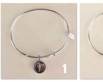 Doctor Who The Doctor and River Song Bangle Bracelets