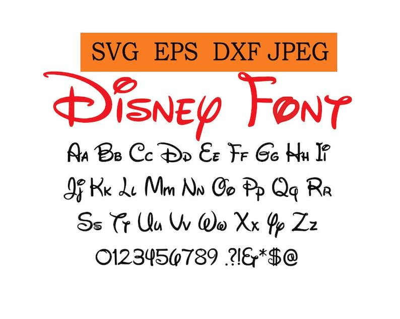 Disney Font Download