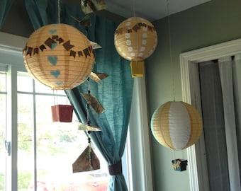 Paper Lantern Hot Air Balloons