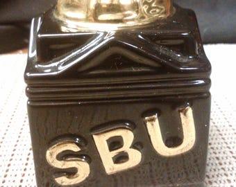 Savings Bank of Utica NY SBU coin bank 150 year anniversary from 1839 to 1989