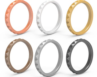 Silicone Wedding Ring Women Etsy