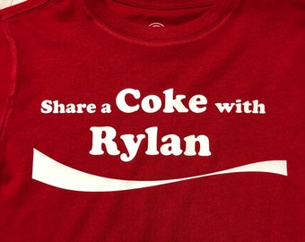 4d61694d0 Youth**** Share a Coke with someone T-shirt **Short Sleeve**Child sizes***