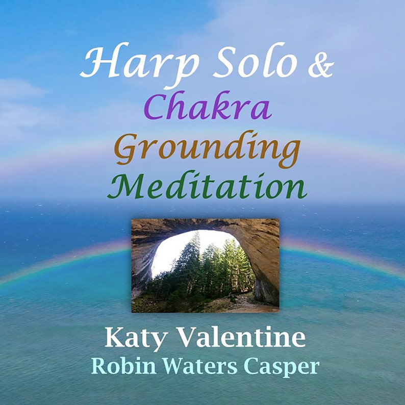 Meditation CD: Harp Solo & Chakra Grounding Meditation image 0