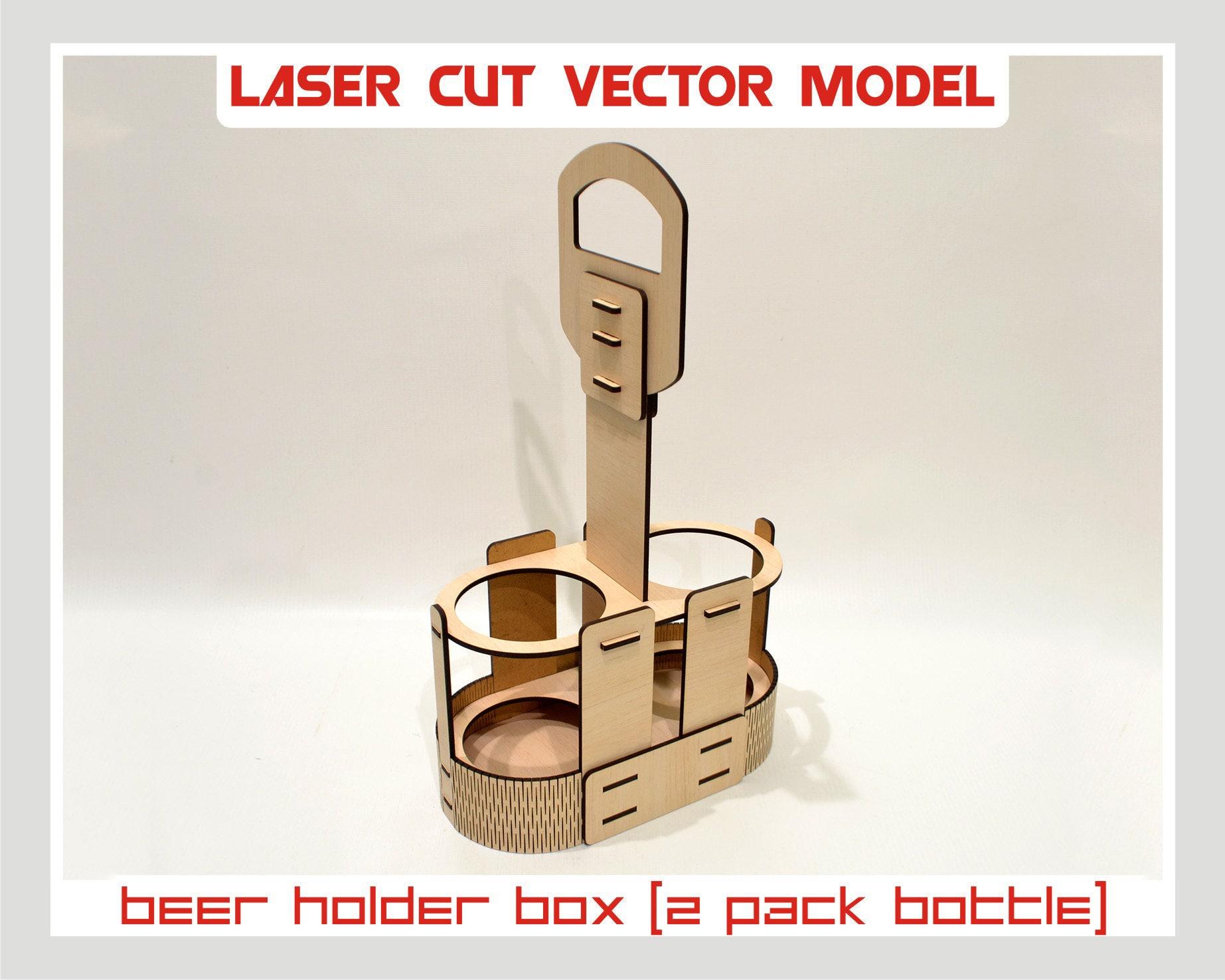 Bierkasten Halter, Laser-cut-Vektor, sofortiger download, Laser Cut ...