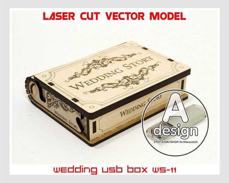 5fbb107ad0 Wooden small box. Wedding USB case Wedding USB box Wedding