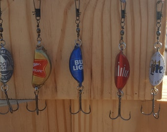 Bottle Cap Rattle Trap Fishing Lures