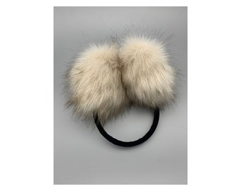 Liberia Country Name Winter Warm Ear Muffs Faux Fur Ear