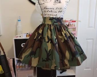 cd209cb3645 Camo Camouflage High Waisted Maxi Skirt   Camo Maxi Skirt