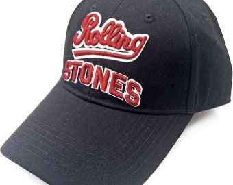 0edc03ebec95c0 ROLLING STONES team logo official licensed baseball cap