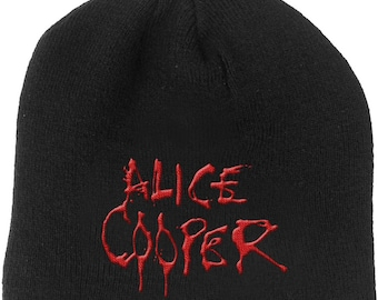 46fb3499d22 ALICE COOPER official licensed beanie. PlayItWearIt 5 out of ...