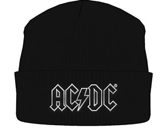 AC DC outline logo beanie c6a51042e202