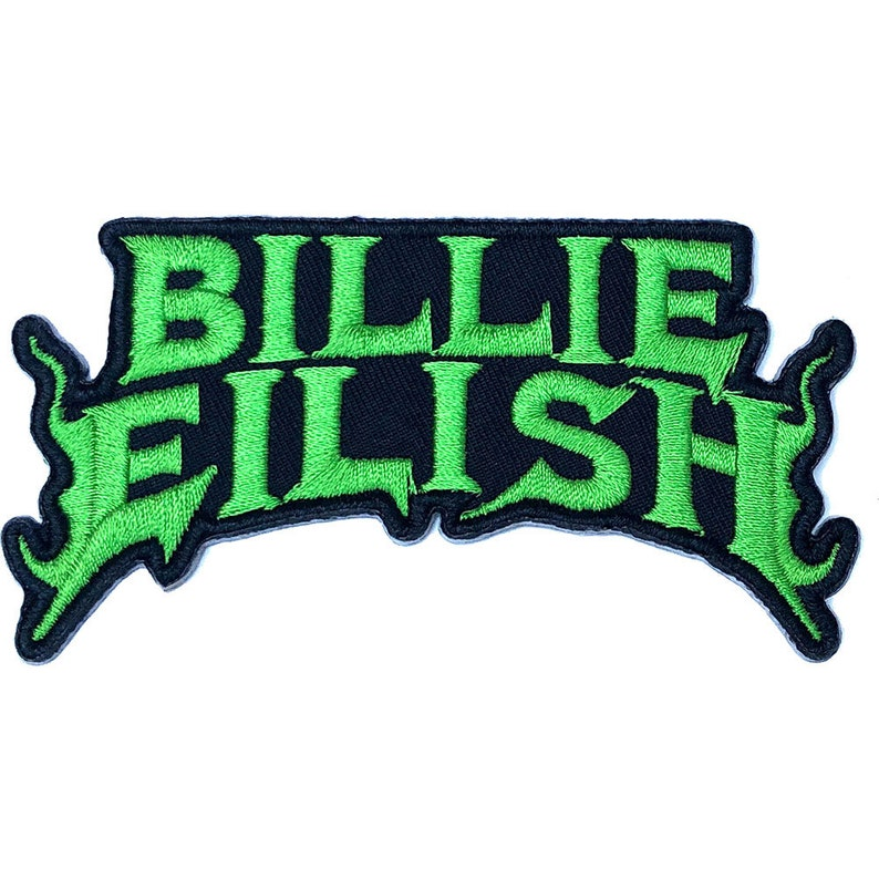 all different see pictures BILLIE EILISH set of 5 Official Patch