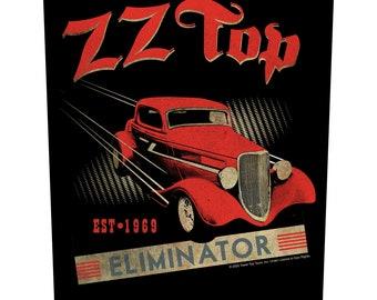 ZZ TOP eliminator   XLG back patch