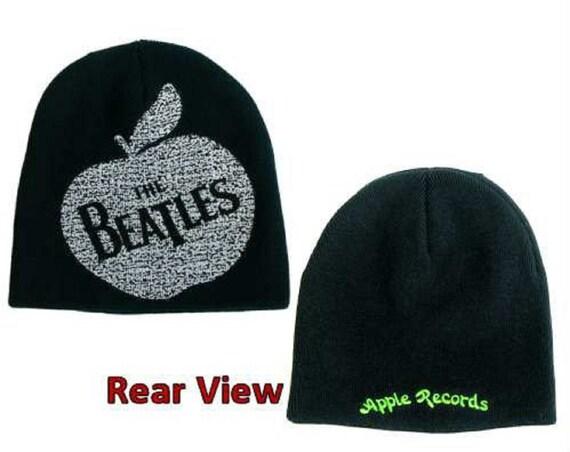 BEATLES apple  logo wool beanie