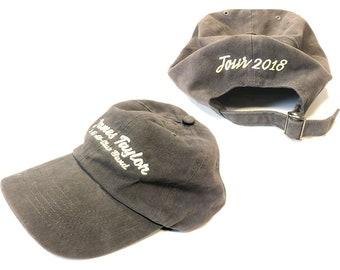 James Taylor Euro tour baseball cap NEW
