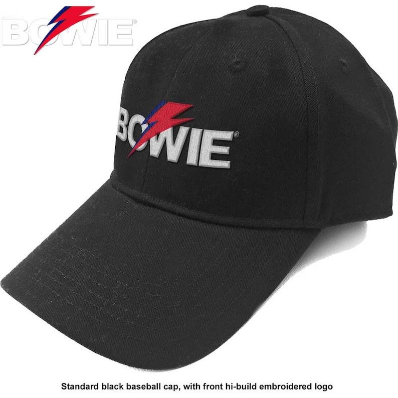 ALADDIN SANE David Bowie official licensed baseball cap