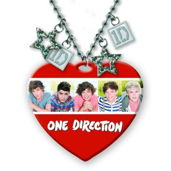 HARRY ONE DIRECTION Official charm necklace