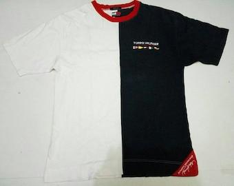 Vintage NAPAJIRI International Embroidered Logo Blue Collar T Shirt Medium Size Sailing Gear Alpine Sportswear Hip Hop Swag Streetwear Gift