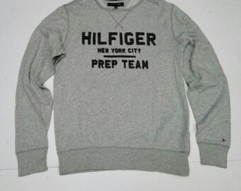 10d2c776 Tommy Hilfiger Sweatshirt Size Medium Vintage Style Grey Unisex
