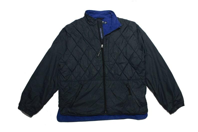 1c04b25f Vintage Polo Sport Ralph Lauren Nylon Half Quilted Jacket | Etsy