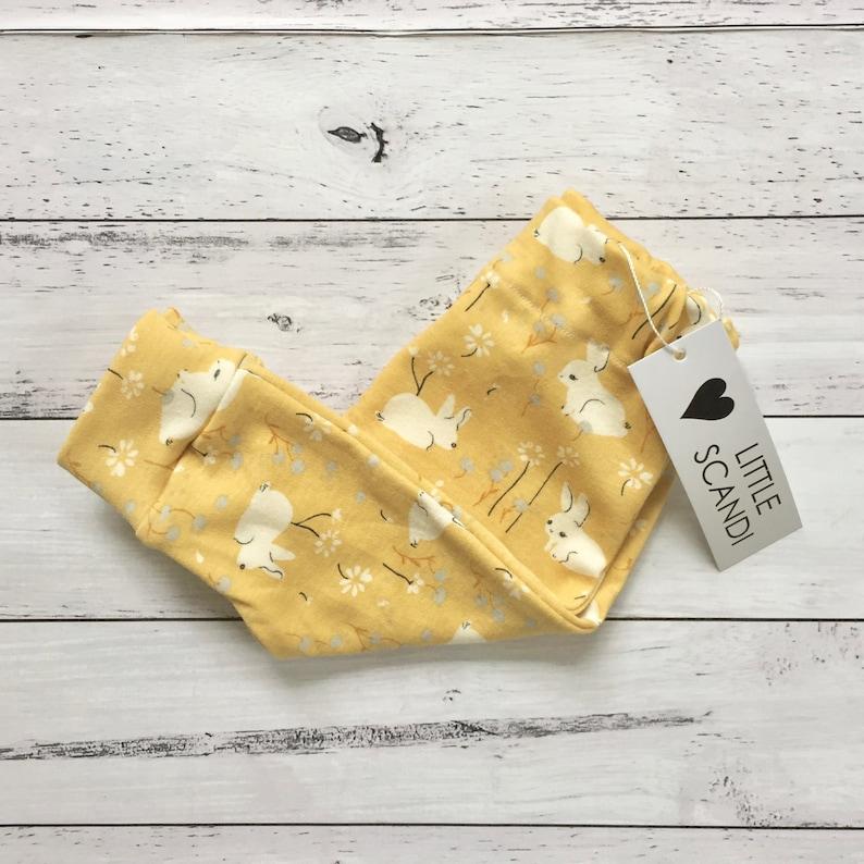Harem Leggings Baby Pants Baby Gift Set ORGANIC BUNNY Handmade Clothes Toddler Clothing Baby Leggings Baby Harems