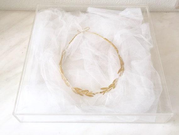 Stefanothiki zur Stefana Aufbewahrung nach der Hochzeit box for wedding Crowns