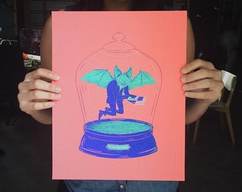 Echo Chamber Screenprint Poster // LIMITED