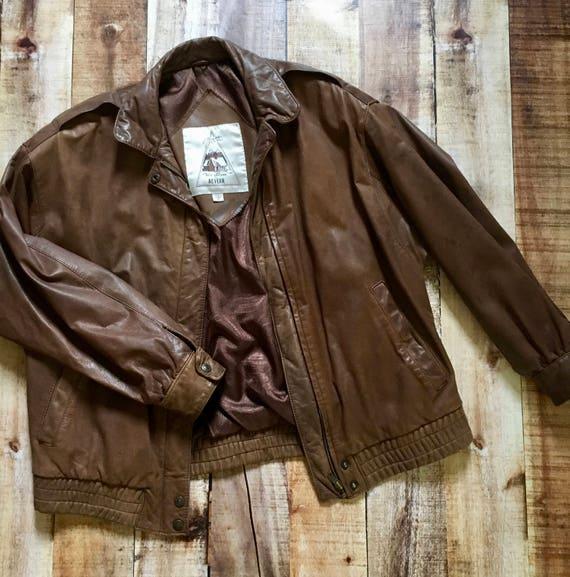 80s Nordstrom Leather Jacket
