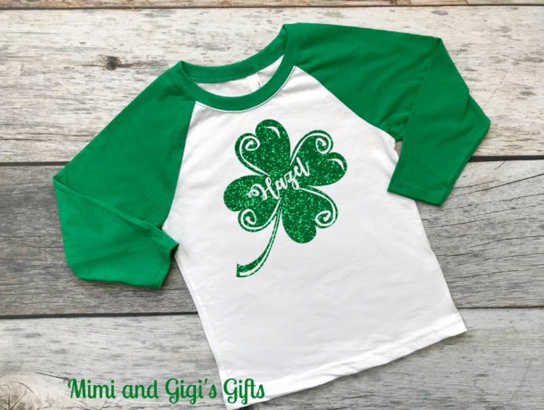 fb06dab3f Personalized St. Patricks Day Shirt St. Paddys Day Luck of   Etsy