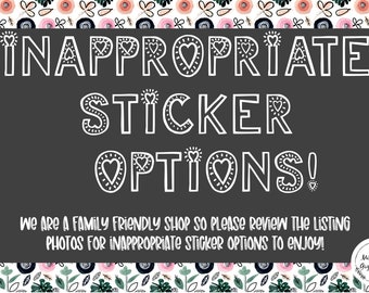 Adult humor Stickers, Inappropriate Humor Stickers, Over it stickers, Hydroflask Stickers, Laptop Stickers