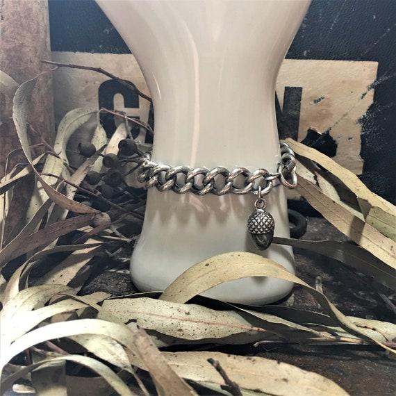 antique french acorn bracelet art nouveau antique