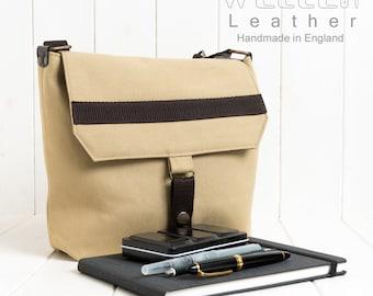 Urban Sketchers Bag, Artist bag, Messenger Bag, Shoulder Bag, Crossbody Bag, Handmade Bag, Camera Bag, Cotton Canvas Bag